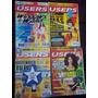 Lote De Cuatro Revistas Users - 123ventas.com.uy