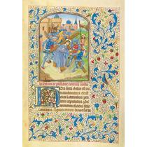 Lienzo Tela Manuscritos Iluminados Camino Al Calvario Arte