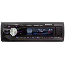 Radio Automotivo Powerpack Tcsd-3336 Sd Usb Azul