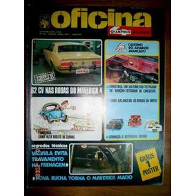 Revista 4 Rodas Oficina Maverick Autorama Ignição Circuito
