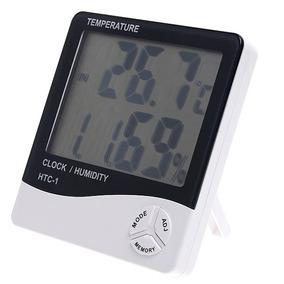 Medidor Temperatura E Umidade Relativa Do Ar E Relógio