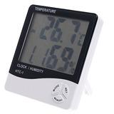Termometro E Medidor Umidade Relativa Do Ar E Relógio