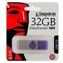 Pen Drive Kingston 32 Gb Original Dt101 G2 Serve X-box Ps3
