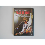 Dvd Paul Mccartney - Paul Is Live In Concert - Concierto