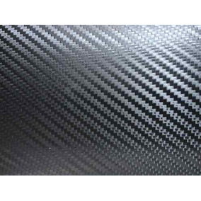 Adesivo Tipo Fibra Carbono Importado Preto 30 X 40 Cm Dobra