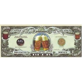 Dinheiro Da Cerveja - Moeda Cervejeira. Frete Grátis!