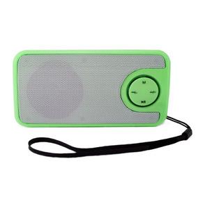 Mini Rádio Retrô Fm,c/ Usb,sd,line,bat Int,neon Color Qx13
