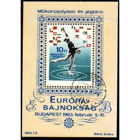Col 03197 Hungria 1539/45 + Bloco 43 Patinação No Gelo U