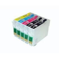 Cartuchos Recarregaveis Impressora A3 T1110 + 5 Chip Full