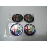 Emblema Resinado De Calotas Ou Roda Alfa Romeo 68mm