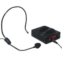 Kit Palestrante Amplificador De Voz Megafone Professor Aulas