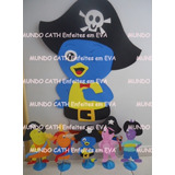 Kit Decoração Backyardigans Pirata Enfeites