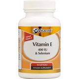 Vitamina E 400 Iu Natural D-alpha Tocopherol Y Selenio 50mg