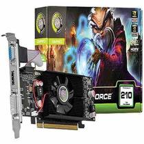 Placa De Vídeo - Geforce Gt 210 1gb Ddr3 Nvidia - Garantia