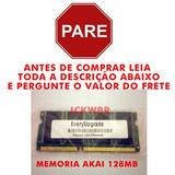 Memoria Expansao 128mb Exm-128 Akai Mpc500 Mpc1000 Mpc2500