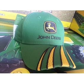 Gorra John Deere Con Aplicación Malla Fomi