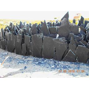 Piedra Laja Negra Para Fachada Y Piso