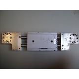 Cilindro Pneumatico Linear Smc Japan Guia Aluminio