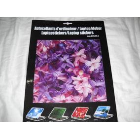 Notebook Adesivo Protetor E Decorador Tema Flores Lindo!