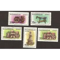 Estampilla Figuras Prehispanicas Ceramica De Nicaragua