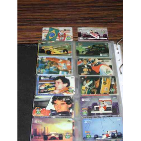 Serie Airton Senna 12 Cartões