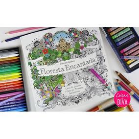 Livro Para Colorir Anti Stress A Floresta Encantada
