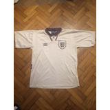Camiseta De Inglaterra Temporada 93/94 Manga Corta Hermosa!!