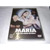 Dvd Original Maria Mãe Do Filho De Deus = Vitorsvideo