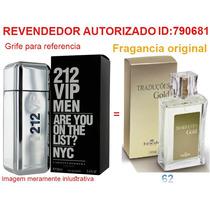 Perfume Traduções Gold 62 Fragancia Do 212vip Frete Gratis