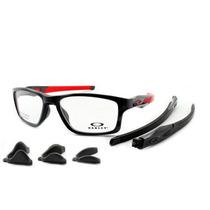Armação Óculos De Grau Oakley Oph Crosslink Mnp Troca Hastes