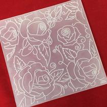Placa De Textura Emboss Folder Diversos 14cm X 14cm Sizzix