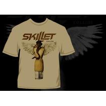Camisa Skillet Collide - Hardcore Cristão Metal Rock Gospel