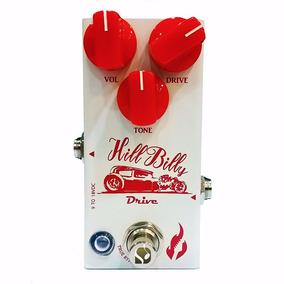 Pedal Para Guitarra De Drive Hill Billy Fire Custom Shop N F