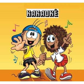 Coletânea 4 Dvds 190 Músicas Karaokê Infantil/juvenil Cd