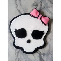 Adorno De Torta Logo Monster High