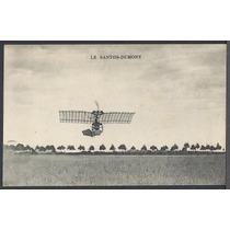 Santos Dumont - Cartão Postal Antigo Original Não Circulado