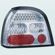 Lanterna Traseira Cristal Do Vw Golf 1995-1998 Com Leds