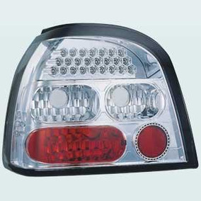 Lanterna Traseira Cristal Do Vw Golf 1995-1998 Com Leds
