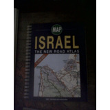 Mapa Carretero Israel Road Atlas Map Tel Avid Jerusalem
