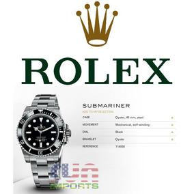 Rolex Oyster Perpetual Submariner 300m Mechanical 114060