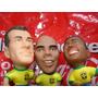 Trio Mini Craques Coca Cola - Lacrado - Miniaturas 1998