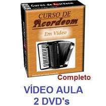Acordeon! Aulas De Acordeon Em 2 Dvds!!! Pague Mercado Pago