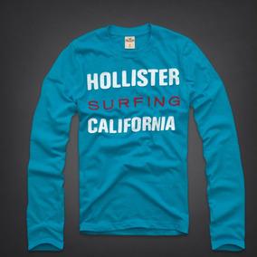 Camiseta Hollister Masculina Blusa Frio Casacos Abercrombie