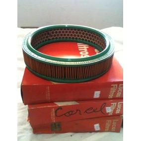 Raro Elemento Do Filtro Ar Corcel I Gt Verde Lucas N°1008