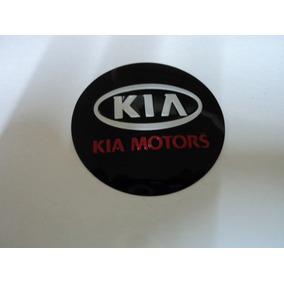 Emblema Kia Adesivo Para Rodas Esportivas 69mm