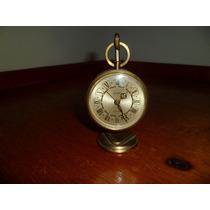 Antiguo Reloj De Mesa Bronce