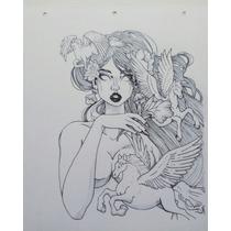 Dibujo A Lápiz Y Tinta China Retratos Y Dibujos A Pedido