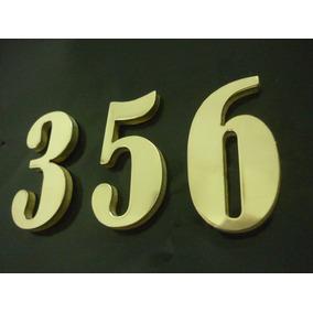 Números De Identificação P/ Portas De Apartamentos