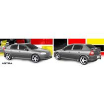 Astra Hatch Spoilers ( Saias ) Dianteiro + Traseiro Tgpoli