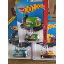 Autos Chocones De Hotwheels, Diversos Colores, Esc 1:64